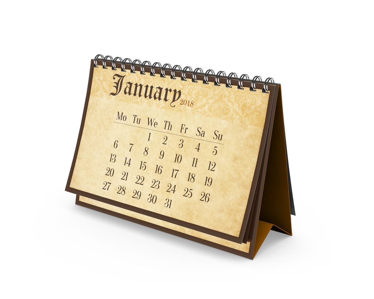 2018 Calendar of Holidays for the US