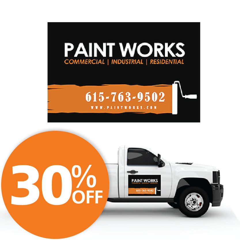 Custom Sign Printing Fast Print Turnaround HourPrint - Custom car magnets cheap   promote your brand