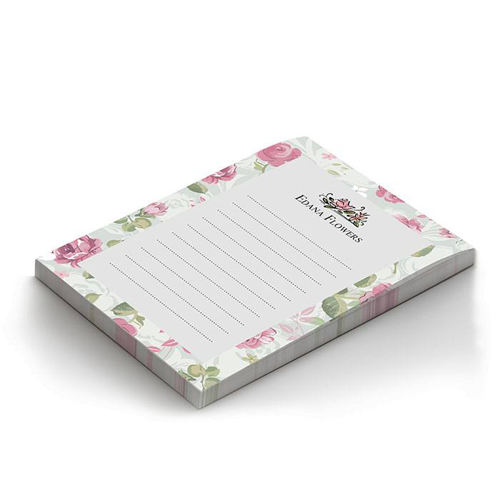 custom notepad printing 48 hour print