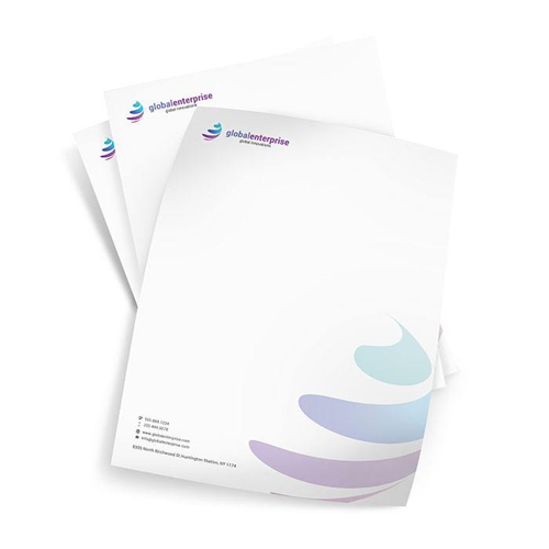 Custom letterhead printing 48 hour print letterheads spiritdancerdesigns Image collections