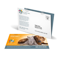 Folded Card Printing and Mailing Services