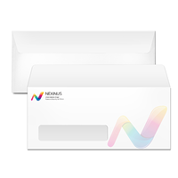 #10 Window Envelope Printing