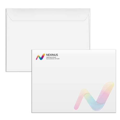 X Envelope Online Printing Services HourPrintcom - 9x12 booklet envelope template