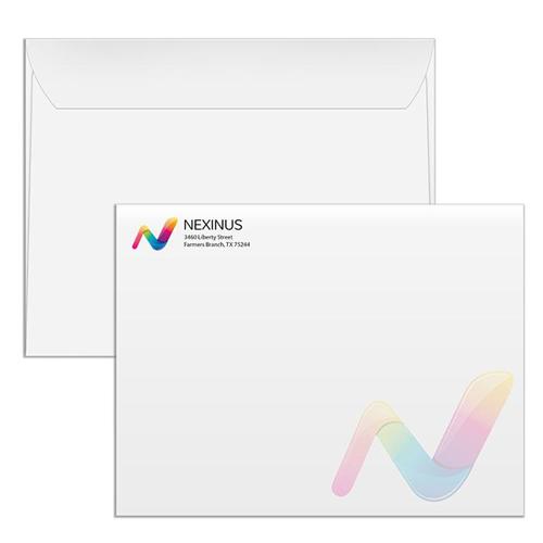 X Envelopes Online Printing Services HourPrintcom - 10x13 envelope template