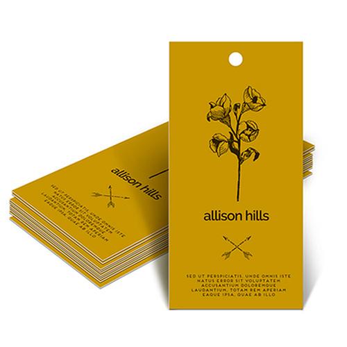 Custom Hang Tag Printing   48HourPrint.com