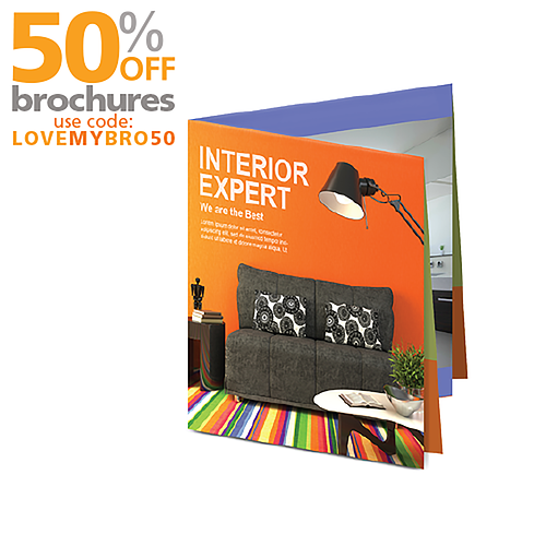 French Fold Brochure Printing
