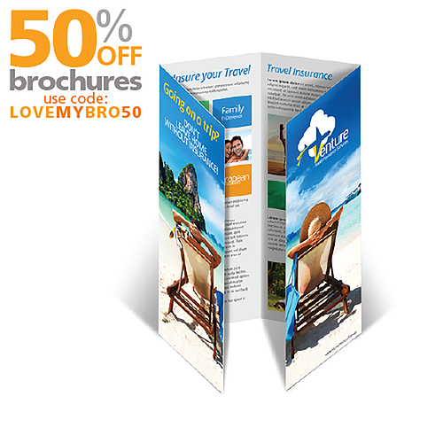 Double Gate Fold Brochure Printing
