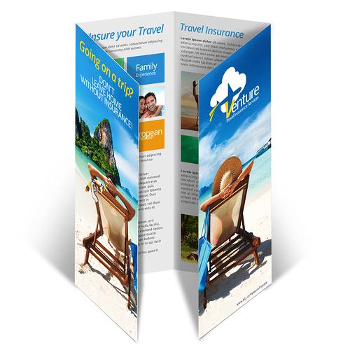 Double Gate Fold Brochure Printing