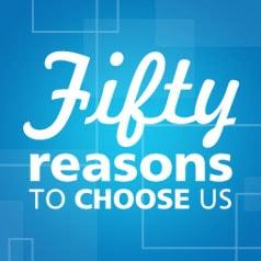 50 Reasons to Choose us